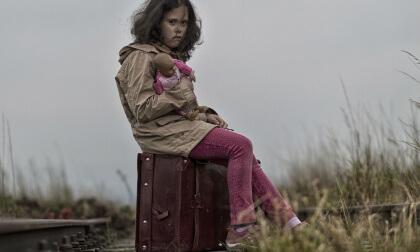 trauma.Flüchtlingskind