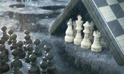 Schach im Regen